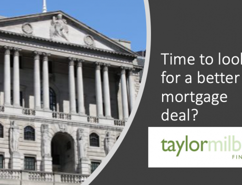 Time to look for a better mortgage deal?